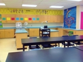 Classroom from front