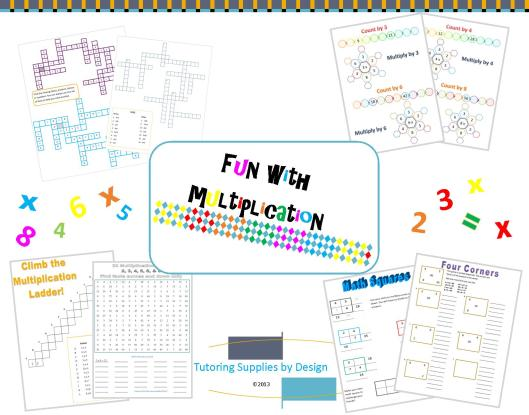 Multiplication games preview
